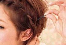 Hair Today... / Hair do's and beauty ideas.