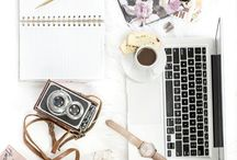 Nine to Five / Stuff that every writer, editor, social media manager, graphic designer, blogger, and marketing strategist needs! (Just realizing I wear a lot of hats!)