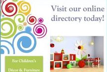 Décor Directory Listings / This is a list of all our approved suppliers, making it easier for parents to find what they are looking for.