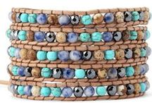 LOOMING BRACELETS AND OTHER PIECES TO MAKE / by Gwen Grabman