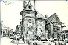 #Urban Sketching