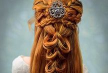 up hair / Κότσοι