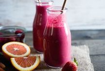 Smoothies and Juice / Our favorite smoothie and fresh juice recipes for hot summer days and for better health.
