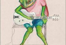 illustration : frog