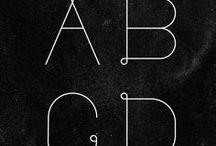 design : text font