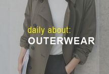 Daily About: Outerwear / Hoodies. Coats. Sweaters. and More.