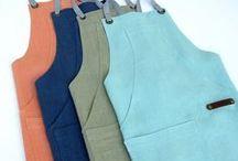 Better Bib Linen Apron / A better chef's apron ~ 100% true medium-weight 7.5oz premium European Linen