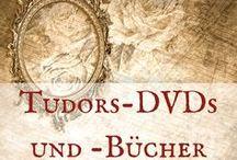Tudors-DVD und -Bücher