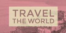 TRAVEL THE WORLD / The world is such a beautiful place; don't you agree? This board contains the best travel destinations, ideas, photography and places to go. Let's travel the world together - In peace, love and harmony.