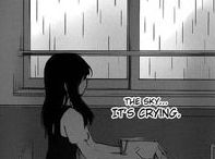 When manga/anime mirror my pain / manga. anime. pain. tears. crying. screaming. anger. loneliness.