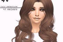 Ts4 CC Włosy