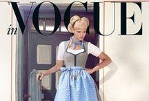 Vogue Trachten-Shooting