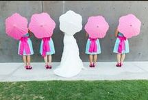 BRIDESMAIDS & FLOWER GIRLS / Bridesmaids and flower girls are an important part of your day, make sure they look the part! / by BeeCustom Design
