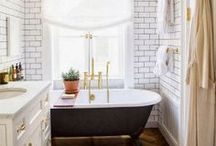 Bathroom Inspiration / Ideas for our upcoming renovations / by Barb Fisher