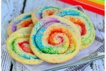 Sugar & Spice / Yummy, sugary things. Unlike my other food board, this is just desserts! / by Casey Hansen