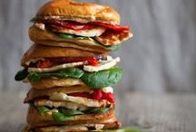Burgers and Sandwiches| Recipes / Favorite burgers and sandwich recipes / by Jenny Flake, Picky Palate