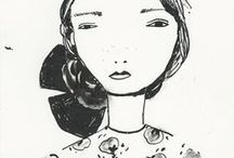sketchbooks  and illustrations II / by Val Ayres