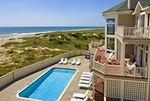 Beach House / The house we rented on the outer banks is my favorite.