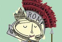 Roma travel book