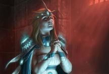 Mythology • Fantasy / by Carmen Navarrete