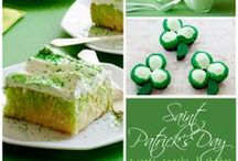 St. Patrick's Day / A collection of pins - crafts and recipes for St. Patrick's Day.