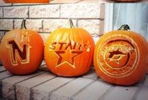 Stars Hockey Halloween / A collection of some of the best carved pumpkins from Dallas Stars fans. / by Dallas Stars