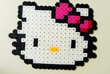 hama beads crafts / by rena
