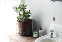 Bath / beautiful bathrooms with vintage feels + rustic charm.