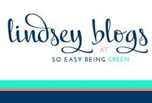 Lindsey Blogs at SEBG / Lindsey Blogs at So Easy Being Green is a space where I share my favorite people, moments, brands, recipes... and everything in between! Find the best of my content from the beginning.