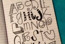 Lettering / by Payton Weller