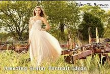 Elegant and Dressy Outfit Inpiration / Dress up for your senior portrait session like these #trbseniors!