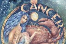 Cancer / Board about the astrology sun sign and constellation of Cancer. Pins include zodiac/astrological artwork, gifts and infographics. Cancer, the Crab, is a cardinal water sign, ruled by the Moon.