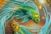Pisces / Board about the astrology sun sign and constellation of Pisces. Pins include zodiac/astrological artwork, gifts and infographics. Pisces, the Fish, is a mutable water sign, ruled by Neptune.