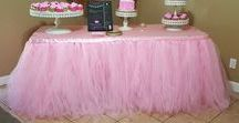 Khaleesi's 1st Birthday Party / Kid's Birthday Parties, Bridal Luncheons or Baby Shower table ideas.  Decorations and rentals by Its Personal Wedding Staging and Design, Milton, FL