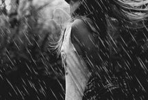 The love for rain and the sea