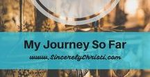 My Faith Journey So Far ... / This is my story and how God has taught me to have faith and hope in the middle of one of the biggest struggles of my life. Trust in God | Faith in God | Trust in God's Plan | Trust in God's Purpose | Finding Purpose in Heartache | Faith Testimony | Infant Loss Support | Infant Loss Encouragement