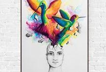 Plakaty Ilustracje