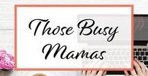 Those Busy Mamas / Group board for all those busy Mamas (and really aren't we all?!). Share anything related to motherhood including parenting tips, working at home (or away from home) advice, helpful baby related posts, etc! 1 to 1 repin requirement. ( After all we are here to support each other!) 5 a day limit. Please try not to add the same pins w/ the same images in a 2 week period.  To join follow me and follow this board, then DM me or email me at beth@alittleknickalittleknack.com.