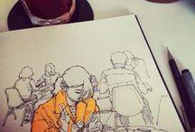 Sketchbook. / Doodles and drawings.