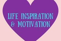 Life Inspiration and Motivation / Life is hard sometimes and can bring us down. Certain days I need more life inspiration to keep me going. I enjoy reading life quotes and doing healthy activities for my mind and soul.