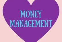 Money Management Tips / Budgeting, saving money, financial freedom, planning for the future, living debt free, all things money for young adults