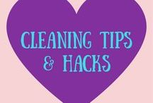 Cleaning Tips + Hacks / A clean life is a happy life! I want to begin transitioning to organic cleaning products and frugal DIY cleaning products.