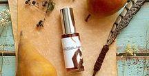 Esscentual Alchemy Natural Botanical Perfume / A selection of Natural Botanical Perfumes I have available in my studio.