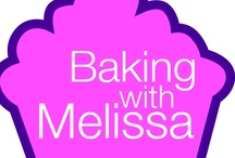 BAKING WITH MELISSA / Sweet Treats and Recipes! See Baking with Melissa on the new Lifetime TV show Supermarket Superstar on the Premiere Episode; July 22nd.  Baking with Melissa is also a featured baking presenter on Ehow.com!  www.bakingwithmelissa.com