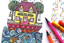 PRINTABLES - My Poppet Printables / Fire up the Printer, coloring pages, charts and patterns