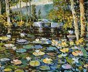 Robert L. Davis / Oil Painting