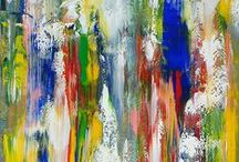 James C Leonard / Abstract Painting