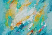 Maxine Price / Acrylic Painting