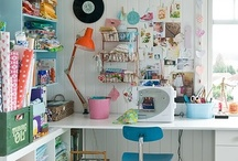 Space to Create / Rooms and ideas that inspire art, creativity, and play.  / by Andrea Thurber