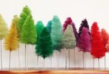 HOLIDAY - Christmas style / Lot's of colorful Christmas ideas for craft and decor